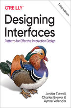 Okładka książki Designing Interfaces. Patterns for Effective Interaction Design. 3rd Edition