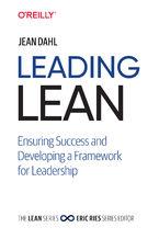 Okładka książki Leading Lean. Ensuring Success and Developing a Framework for Leadership