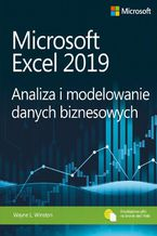 Okładka książki Microsoft Excel 2019 Analiza i modelowanie danych biznesowych