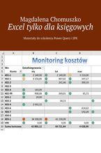 Okładka książki Excel tylko dlaksięgowych Zeszyt 1