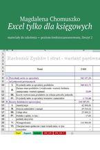 Okładka książki Excel tylko dlaksięgowych Zeszyt 2
