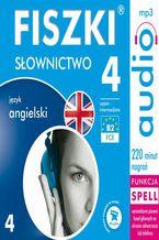 Okładka książki FISZKI audio  j. angielski  Słownictwo 4