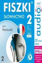 Okładka książki FISZKI audio  j. francuski  Słownictwo 2