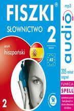 Okładka książki FISZKI audio  j. hiszpański  Słownictwo 2