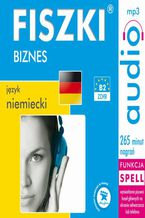 Okładka książki FISZKI audio  j. niemiecki  Biznes