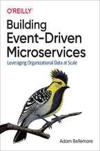 Okładka książki Building Event-Driven Microservices