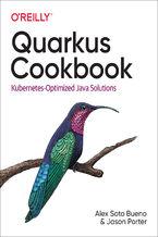 Okładka książki Quarkus Cookbook
