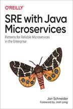 Okładka książki SRE with Java Microservices