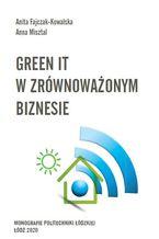 Okładka książki Green IT w zrównoważonym biznesie
