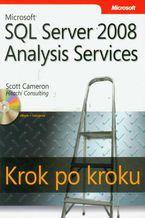 Okładka książki Microsoft SQL Server 2008 Analysis Services Krok po kroku