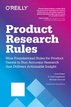 Okładka książki Product Research Rules