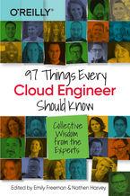 Okładka książki 97 Things Every Cloud Engineer Should Know