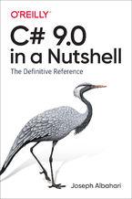Okładka książki C# 9.0 in a Nutshell