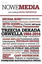 NOWE MEDIA pod redakcją Eryka Mistewicza Kwartalnik 6/2013