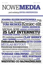 NOWE MEDIA pod redakcją Eryka Mistewicza Kwartalnik 7/2014