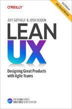 Okładka książki Lean UX. 3rd Edition
