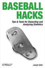 Okładka książki Baseball Hacks. Tips & Tools for Analyzing and Winning with Statistics