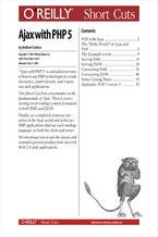 Okładka książki Ajax with PHP 5