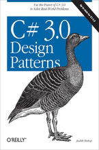 Okładka książki C# 3.0 Design Patterns