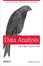 Okładka książki Data Analysis with Open Source Tools. A Hands-On Guide for Programmers and Data Scientists