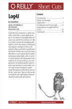 Okładka książki Log4J