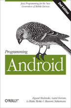 Okładka książki Programming Android. Java Programming for the New Generation of Mobile Devices. 2nd Edition