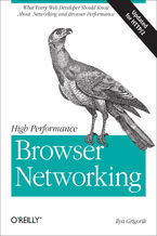 Okładka książki High Performance Browser Networking. What every web developer should know about networking and web performance
