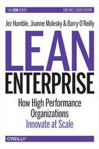 Okładka książki Lean Enterprise. How High Performance Organizations Innovate at Scale
