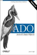 Okładka książki ADO:  ActiveX Data Objects