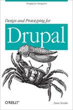 Okładka książki Design and Prototyping for Drupal. Drupal for Designers