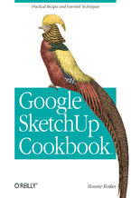 Okładka książki Google SketchUp Cookbook. Practical Recipes and Essential Techniques
