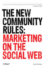 Okładka książki The New Community Rules. Marketing on the Social Web