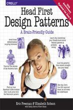 Okładka książki Head First Design Patterns. A Brain-Friendly Guide