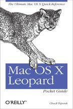 Okładka książki Mac OS X Leopard Pocket Guide