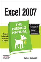 Okładka książki Excel 2007: The Missing Manual