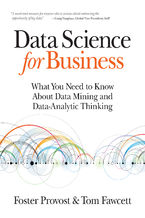 Okładka książki Data Science for Business. What You Need to Know about Data Mining and Data-Analytic Thinking