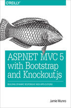 Okładka książki ASP.NET MVC 5 with Bootstrap and Knockout.js. Building Dynamic, Responsive Web Applications