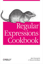 Okładka książki Regular Expressions Cookbook
