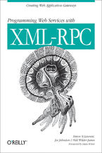 Okładka książki Programming Web Services with XML-RPC. Creating Web Application Gateways
