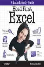 Okładka książki Head First Excel. A learner's guide to spreadsheets