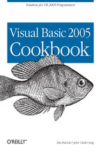 Okładka książki Visual Basic 2005 Cookbook. Solutions for VB 2005 Programmers