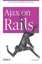Okładka książki Ajax on Rails