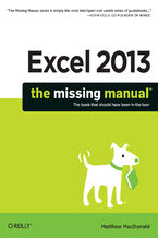 Okładka książki Excel 2013: The Missing Manual