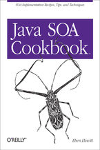 Okładka książki Java SOA Cookbook. SOA Implementation Recipes, Tips, and Techniques
