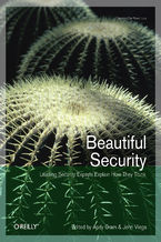 Okładka książki Beautiful Security. Leading Security Experts Explain How They Think