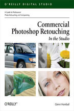 Okładka książki Commercial Photoshop Retouching: In the Studio