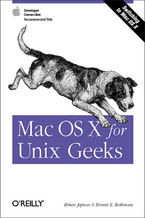 Okładka książki Mac OS X for Unix Geeks