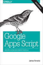 Okładka książki Google Apps Script. Web Application Development Essentials. 2nd Edition