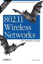 Okładka książki 802.11 Wireless Networks: The Definitive Guide. The Definitive Guide. 2nd Edition