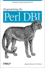 Okładka książki Programming the Perl DBI. Database programming with Perl